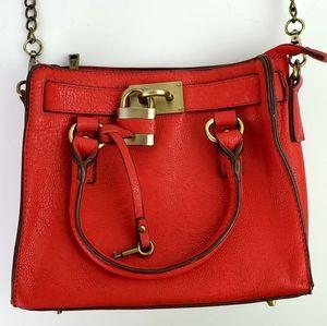 Melie Bianco Red Angela Style Handbag Working Lock